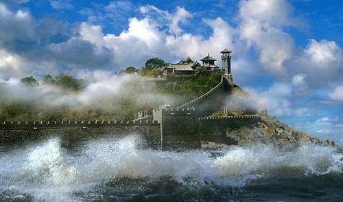 蓬莱三仙山温泉一日游