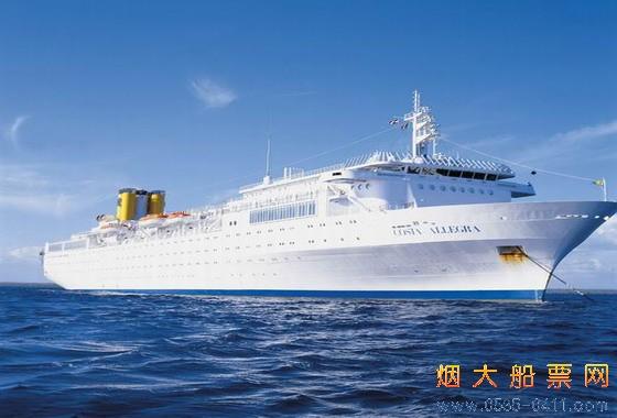 青岛豪华邮轮出国旅游