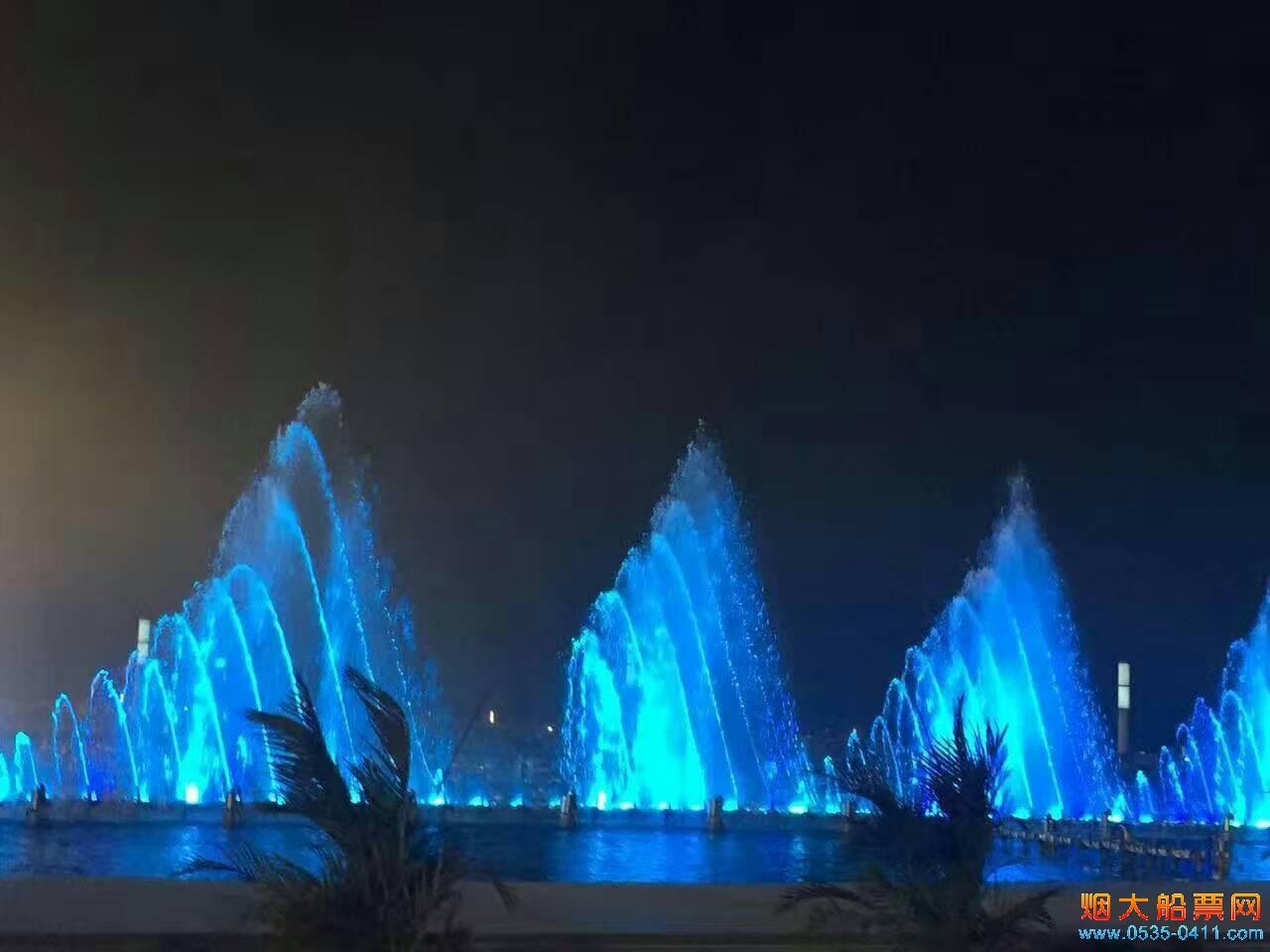 大连东港音乐喷泉音响绝佳喷泉美轮美奂